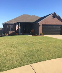 Private Room and Bathroom Just Outside of Tulsa - Sapulpa - Casa