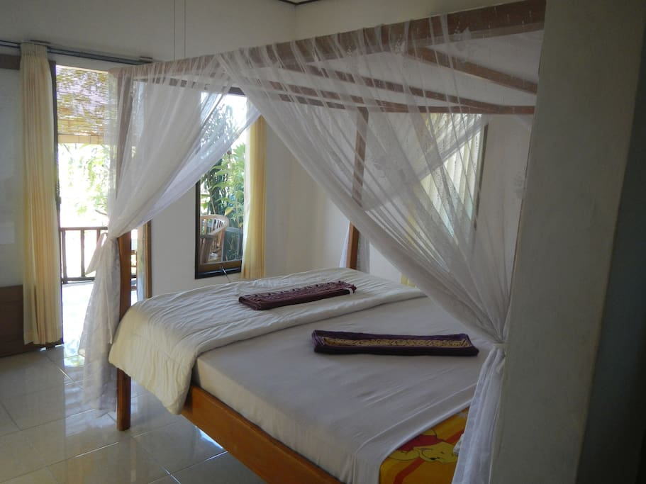 bedroom superior room with airconditioner
