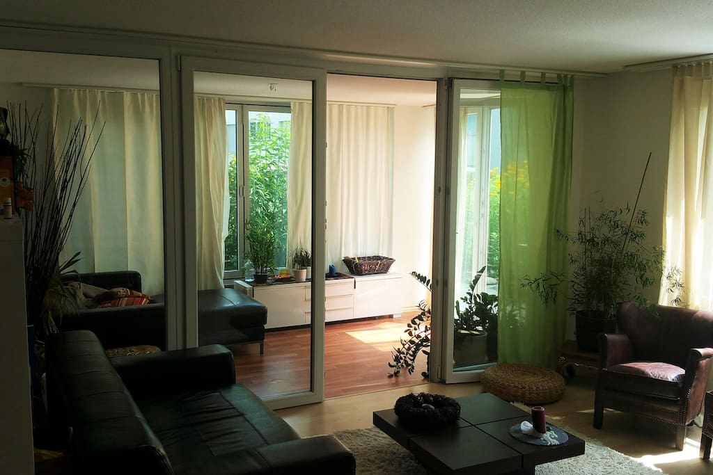 living room and 2nd room