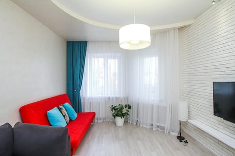 Добрый Дом - 2-комнатная квартира с отличным ремонтом около ТЦ Росич