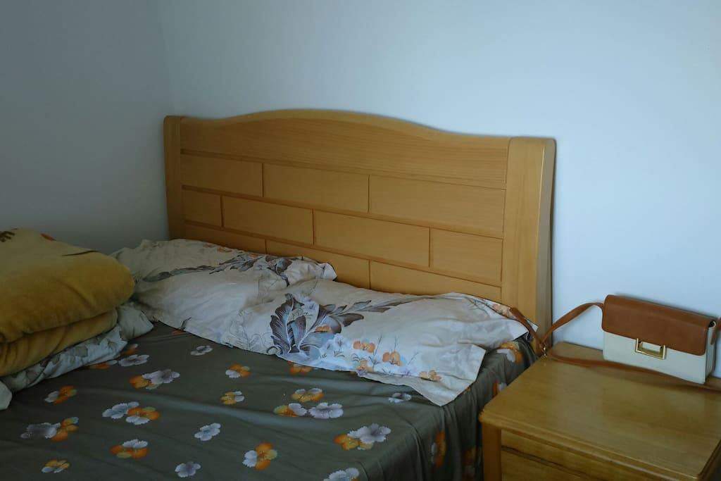 干净整洁的大床~