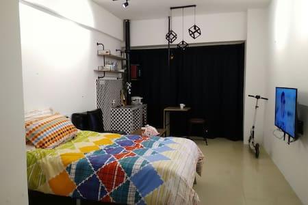 近江滩江汉路轮渡汉正街老港风单身小公寓 - Wuhan - Apartmen