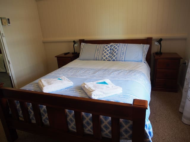 2nd Bedroom - Queen bed with your own television