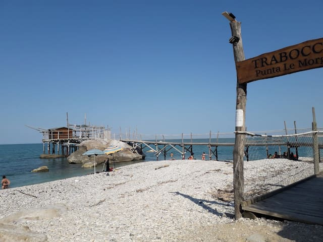 Casa vacanze Costa Trabocchi appena ristrutturata.