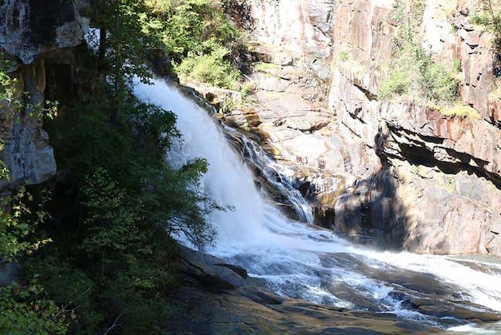 The Tomlin House-Day-Hike Tallulah Falls!