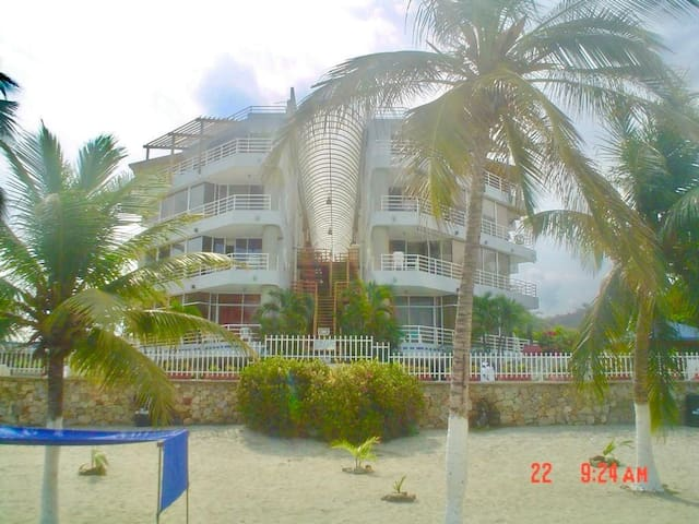 Nautilus: Beach front apartment