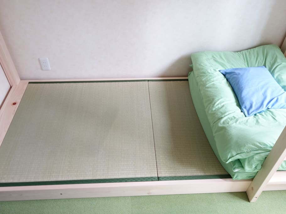 Double Room: Real Tatami with Futon