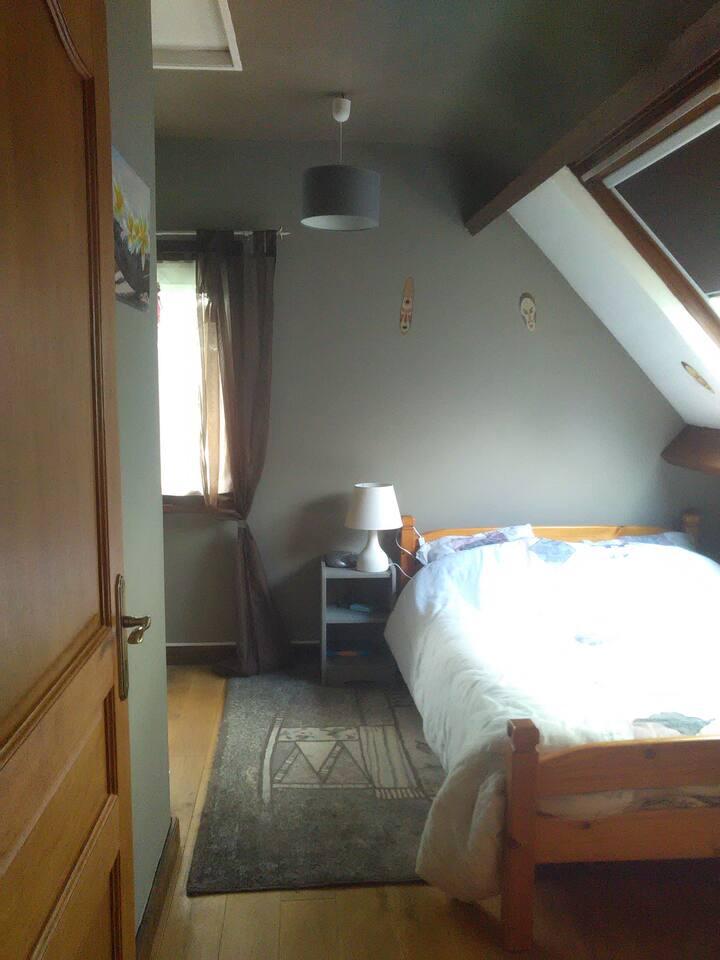CH1 - Chambre lit double chez l'habitant
