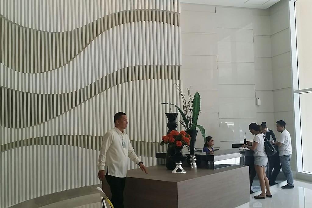 Jazz Residences Lobby