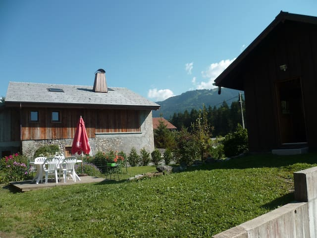 CHALET INDIVIDUEL COSY POUR 4 pers - Verchaix - Chalupa