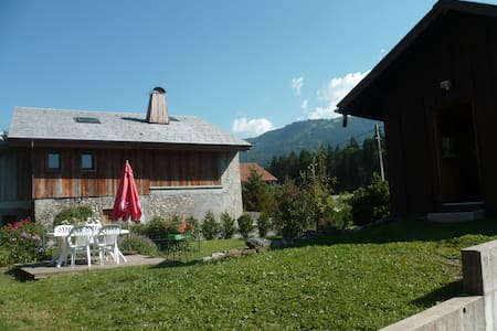 CHALET INDIVIDUEL COSY POUR 4 pers - Verchaix - Hytte (i sveitsisk stil)