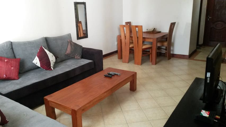 Comfy 2 Bedroom Furnished Flat - Nairobi - Appartement