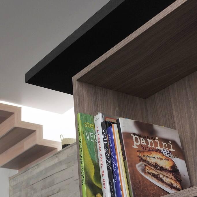 Barra cocina / Escalera