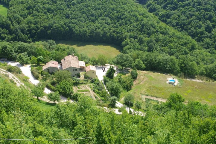 Great holiday on an agriturismo in Le Marche Italy