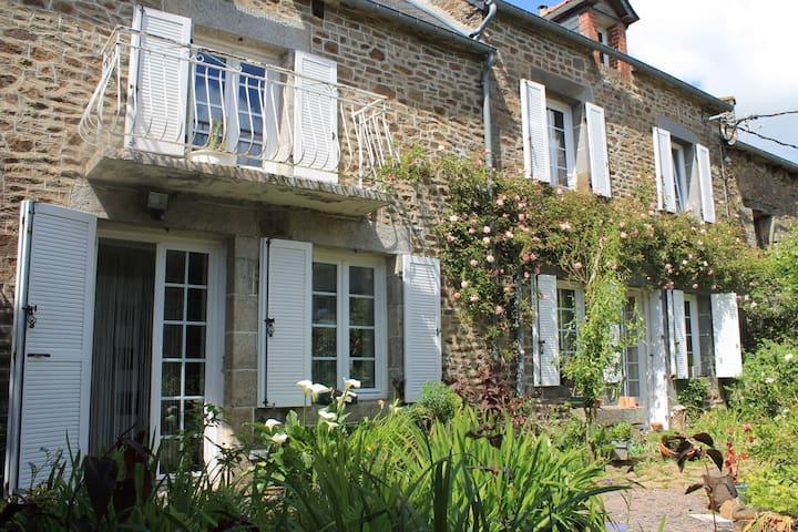 Longère Pierre avec Jardin - Lanvallay - Haus
