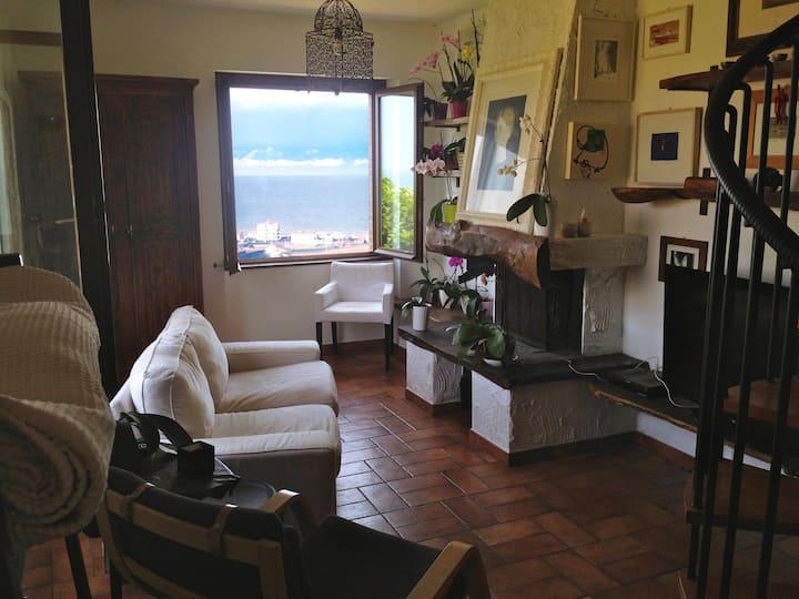 Stupendo appartamento, vista mare.