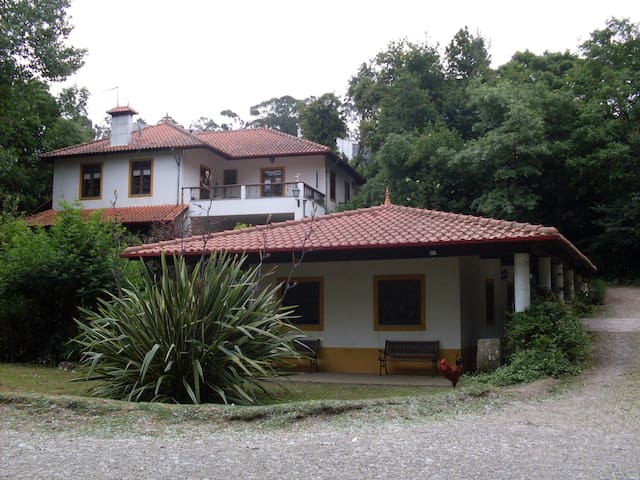 CASA DO MOINHO rural, Campo e praia a 4kms