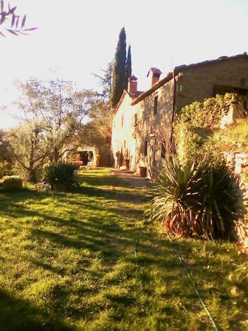 Lovely farmhaus in splendid Tuscany