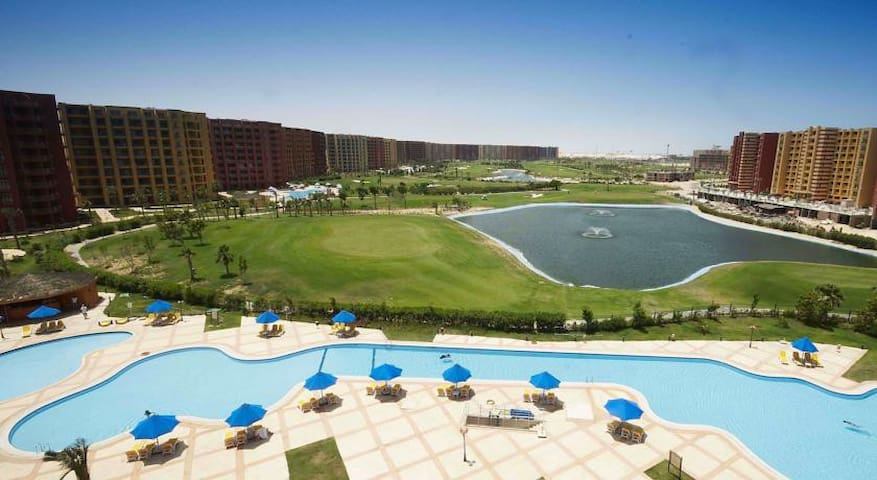 Golf Porto Marina with sea view - Burj Al Arab - Apartment