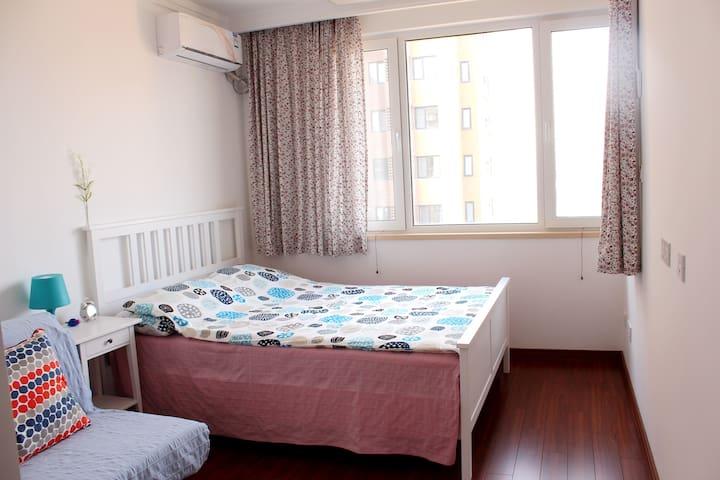 Quiet community new  apartmen 120㎡ simplify style - Xian Shi - Lejlighed