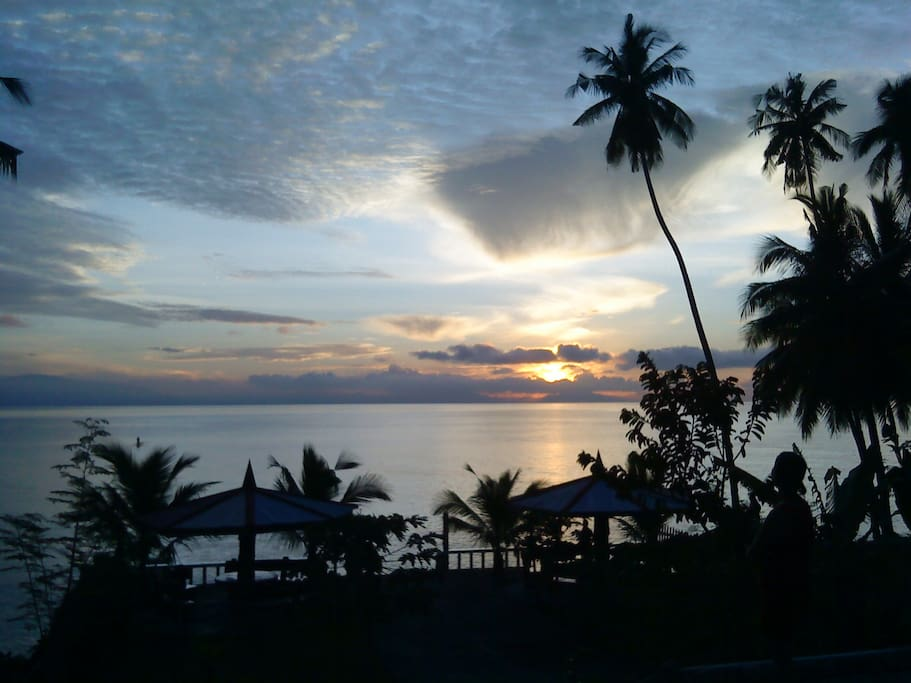 Early morning sunrise