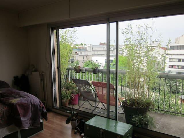 Paris: Studio atypique avec BALCON. - Paris - Apartment