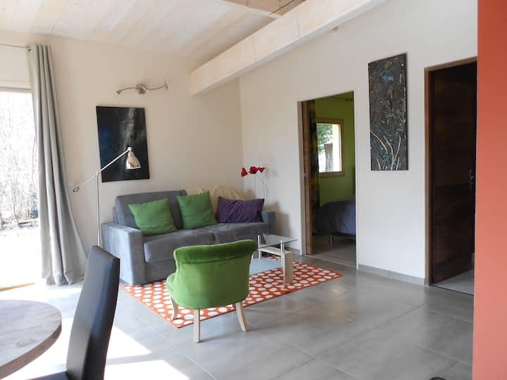 petite maison contemporaine & écolo