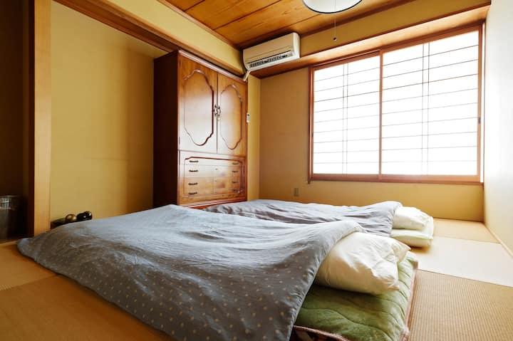 Easy access to Kyoto, Nara and KIX