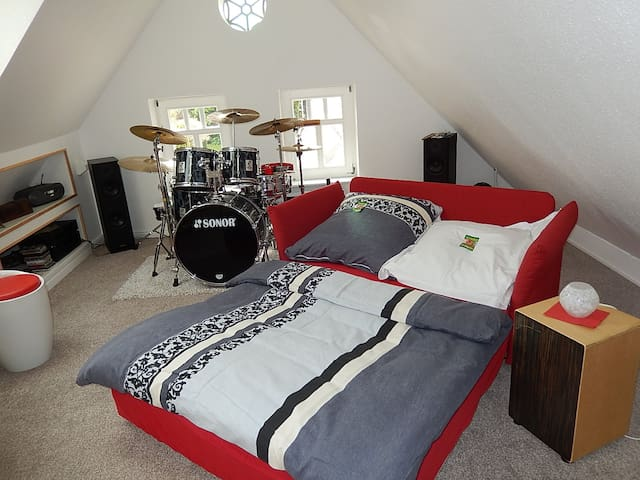 Cosy little music room - Großefehn - บ้าน