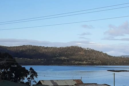 gargoyle place looking over at huon river