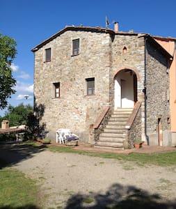 Mansarda in casa colonica - Montieri. - Fr. Travale