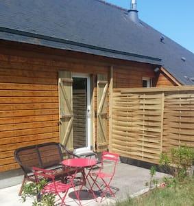 Chambre terrasse privée 800m plage - Lancieux - Casa