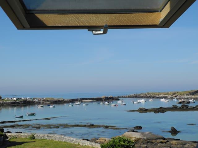 Maison pleine vue mer - Porspoder - Huis