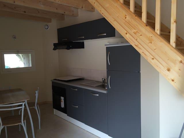 T2 avec Mezzanine dans une tour. - Casteljaloux - Apartment