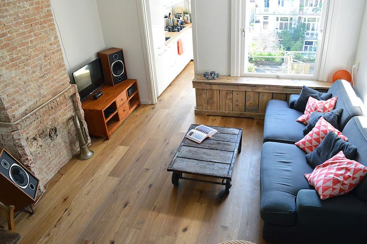 Lovely neighborhood, great home! - Amsterdam - Appartement