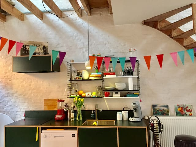 Charming renovated house in centre of Ghent
