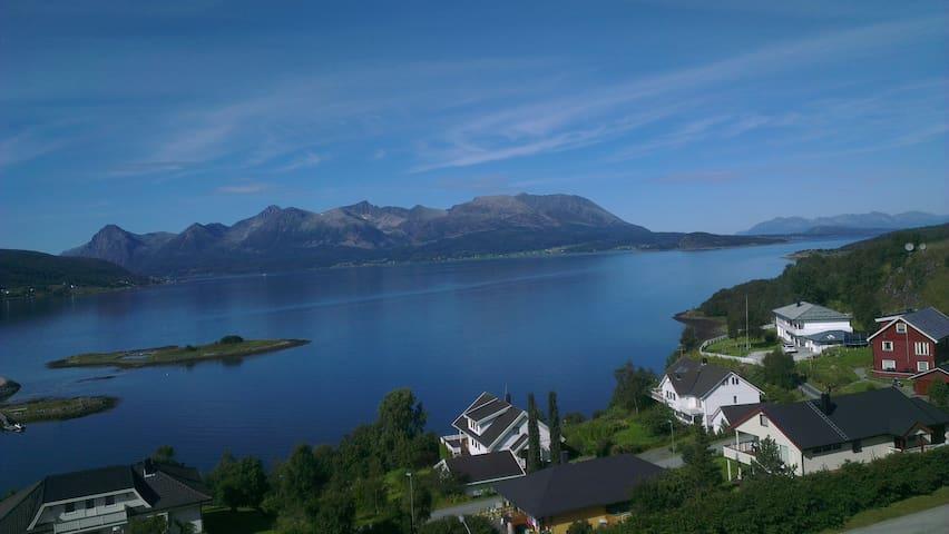 Stunning view in Harstad. - Harstad - House