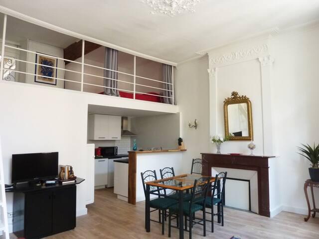 Camiliam-Studio mezzanine - Centre-ville Comédie