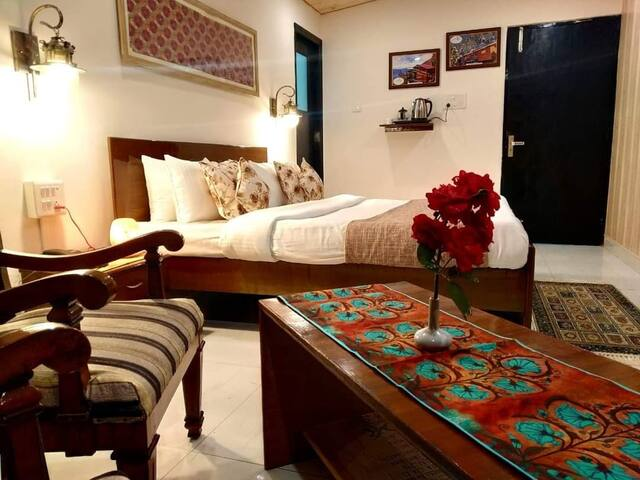 Super Deluxe Room with all the modern  amenities