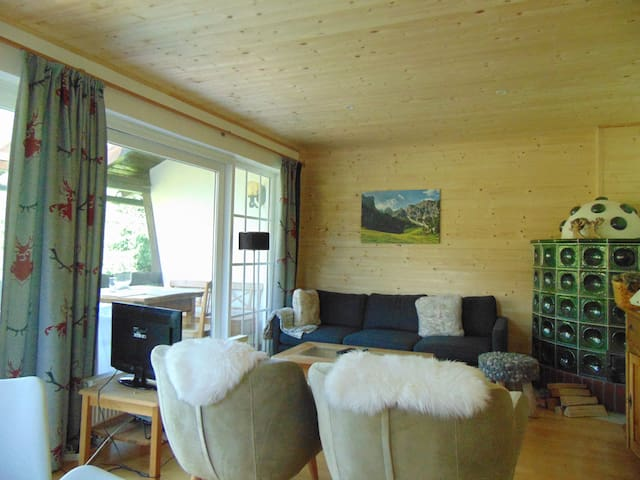 Comfortable chalet in St Oswald