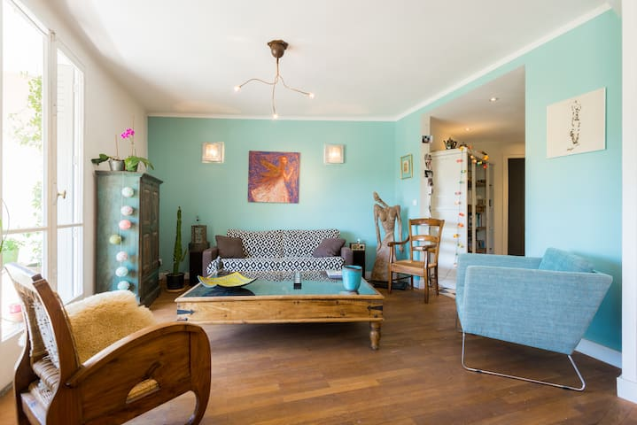 Lovely and cosy bright flat near th - 阿訥西 - 公寓