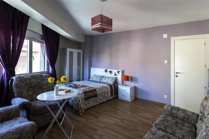 Excellent accommodation in the center of Salamanca