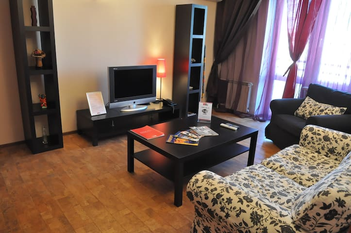 Cosy flat with double bed Polyanka 138 - Moscow - Apartment