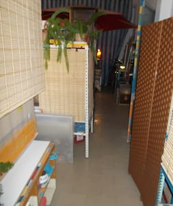 Three beds in a second hand shop - Quelfes - Loft