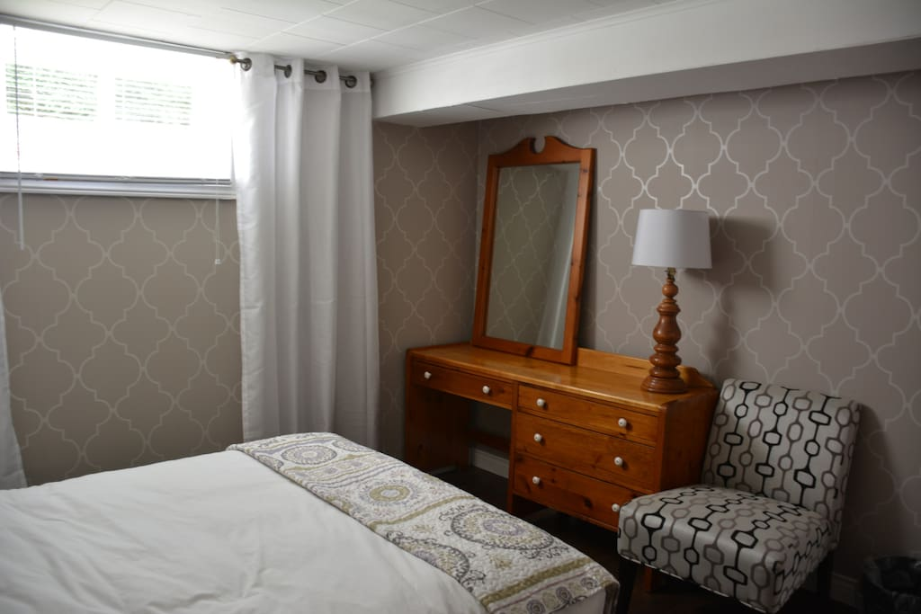 Another view of your cozy bedroom!