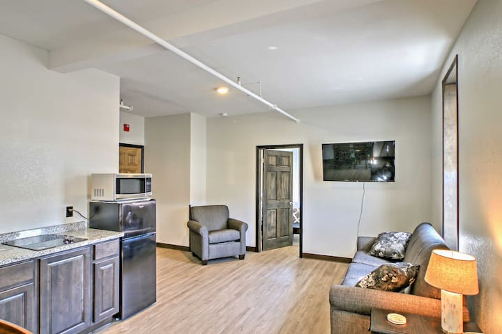 NEW! Prime 1BR Sturgis Apartment on Main Street!