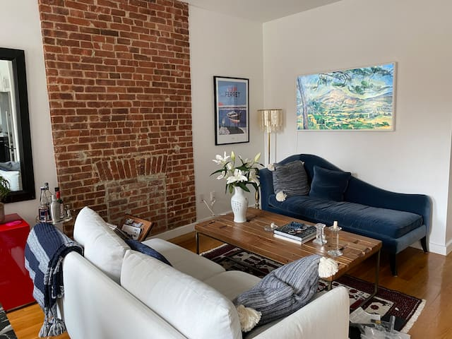 Modern Brooklyn Brownstone (Floor-Thru 1BR)