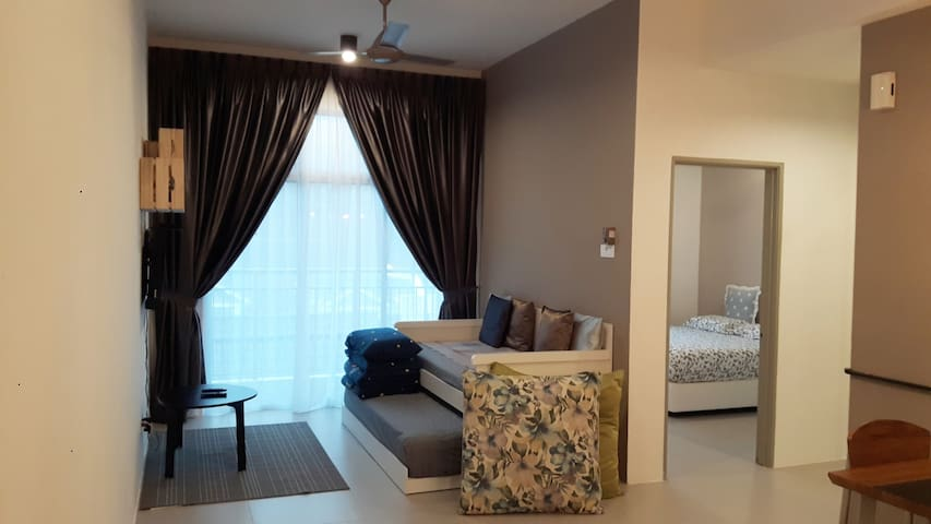 G Residence-2 Bedrooms Apartment@Night Market (5)