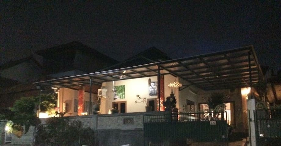 Mutiara villa within gated community Nusa Dua
