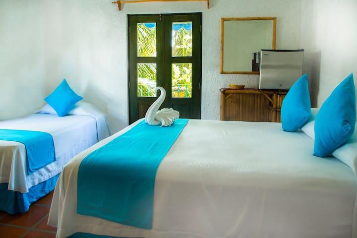 MAYA KA'AN INN otra habitación - Quintana Roo - Boutique-Hotel